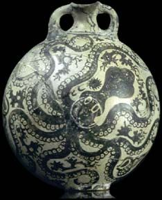 Minoan Octopus Vase, Palaikastro (Crete), Greece, 1500 BCE | Art History & the Art of History