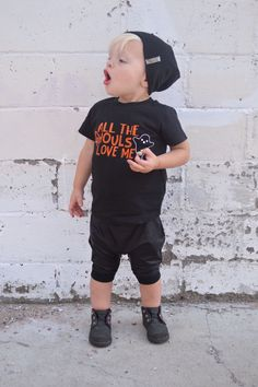 All The Ghouls love me tee