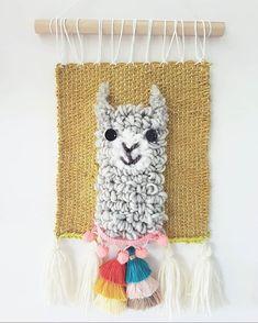 Baby #Alpaca wallhanging♡ 😄 •LINK IN BIO• ⋒ Swipe to check more photos * #nursey #nurseryinspo #kidsroom #llama #vintage #nurserydecor…