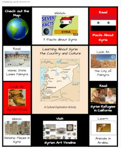 Part 4 in this FREE Refugee Reading Series is a multimedia text set about Syria. Designed for upper elementary and middle school students.