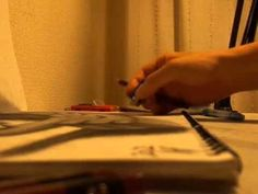 3-D Illusion Sketchbook Drawings; http://www.thisiscolossal.com/2012/06/3d-illusion-sketchbook-drawings-by-nagai-hideyuki/#