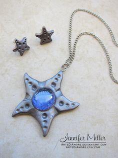 Starfish Pendant by ArteDiAmore