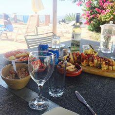 Sidste frokost på terrassen inden vi smutter hjem. Tak for denne gang Cómpeta