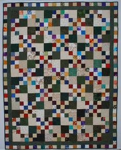 The Double Nickel Quilt Challenge: Nickel Double Four Patch quilt