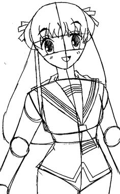 how to draw tohru honda from fruits basket with easy step by step drawing tutorial page 2 of 2 how to draw step by step drawing tutorials
