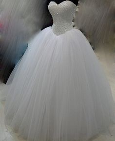 Wedding Dresses New White Ivory Beadding Dress Bridal Gown Custom Size