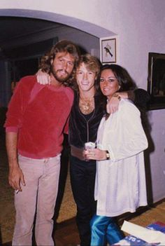 linda, andy, and barry gibb