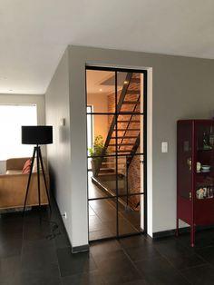 Elegant Dining Room, Dining Room Design, Cosy Decor, Steel Doors And Windows, Wrought Iron Doors, House Doors, Office Interior Design, Building A House, Villa