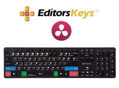 DaVinci Resolve Slimline PC Keyboard