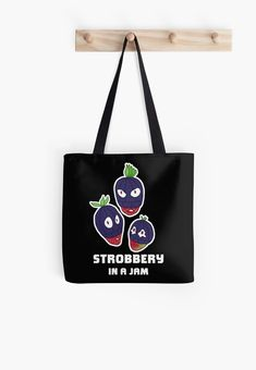 Stealing strawberries in the middle of a heist. Funny berry slogan gift. • Millions of unique designs by independent artists. Find your thing. Food Illustrations, Strawberries, Slogan, Chiffon Tops, Berry, Finding Yourself, Middle, Reusable Tote Bags, Artists