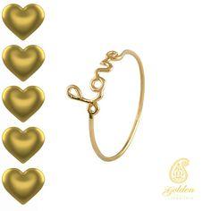 """Das Wort """"Love"""" sagt mehr tausend Worte. Der FingerknöchelDamenringbeweist mit seiner Liebeserklärung, dass alles mit der Liebe funktioniert.   http://goldenjewellery.de/shop/goldringe/damenring-11/"""