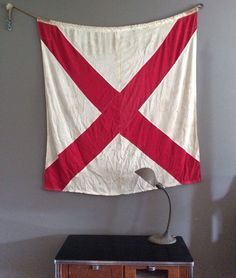 Vintage WWII Nautical Signal Flag by Archival on Etsy, $85.00