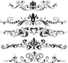 Ornaments vector free vector graphics design freebies