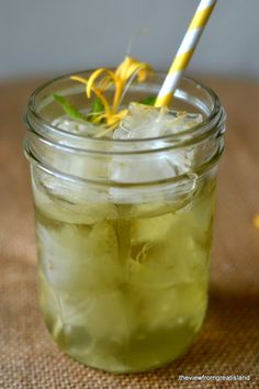 Minimal Monday: Honeysuckle Iced Tea - The View from Great Island--for my sister to try!