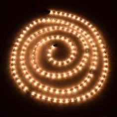 LED touw met 144 LEDs - 6 meter lang - wit