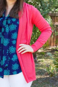 Would like a bright cardigan to put with neutrals. I have enough black/gray/navy cardigans.