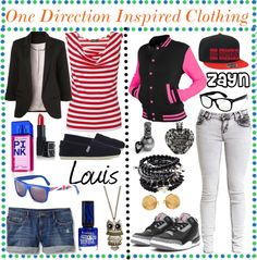 """One Direction Inspired Clothing 2"" by awesome-truth-tips on Polyvore"