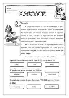 Copa 2018 EM PDF | Atividades Pedagogica Suzano