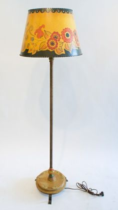 Monterey Rope Wrapped Decorated Floor Lamp