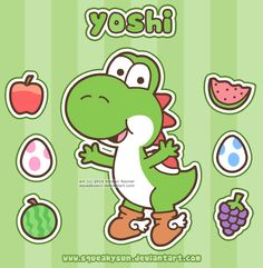 Aww, who doesn't love Yoshi? :)