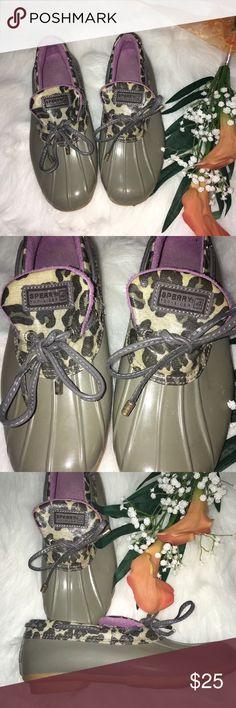 SPERRY TOP-SIDER Waterproof Ankle Rubber Rainboots SPERRY TOP-SIDER Womens Sz 7 Purple Gray Waterproof Ankle Rubber Rainboots Sperry Top-Sider Shoes Winter & Rain Boots