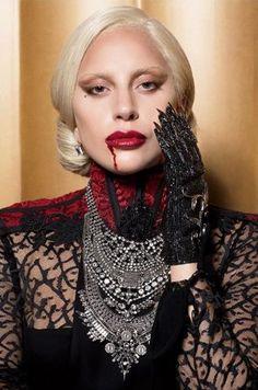 Lady Gaga AHS Hotel glove .. AHS American Horror Story #AmericanHorrorStory #AHS