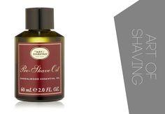 Best Pre Shave Oils for men with sensitive skin and not only - Art of Shaving Sandalwood Essential Oil, Essential Oils, The Manliness, Oils For Men, Shaving Oil, Pre Shave, Sensitive Skin, Cleanse, Perfume Bottles