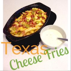 Texas Cheese Fries on Pinterest   Cheese Fries, Poutine Recipe and ...