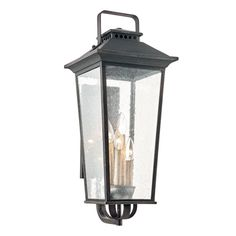 Fifth and Main Lighting Parsons Field Aged Pewter Outdoor Wall Mount Lantern Outdoor Wall Lantern, Outdoor Wall Sconce, Outdoor Wall Lighting, Exterior Lighting, Outdoor Walls, House Lighting, Outdoor Wall Decorations, Large Outdoor Lanterns, Outdoor Planters