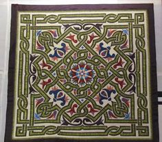 A beautiful Celtic quilt posted by Zeena Masreya on Google Plus.