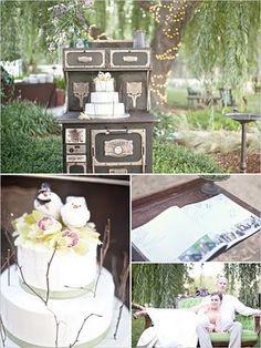 Uuuughhhh!!!! LOOOOVE!!!! Kinser Event Company: {REAL WEDDING} Napa Valley Shabby Chic Wedding