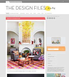 the design files daily Australian Homes, The Design Files, Kids Meals, Arts And Crafts, Website, Blog, Inspiration, Biblical Inspiration, Blogging