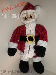 Amigurumi Papá Noel Teddy Bear, Toys, Animals, Creativity, Amigurumi, Papa Noel, Activity Toys, Animales, Animaux