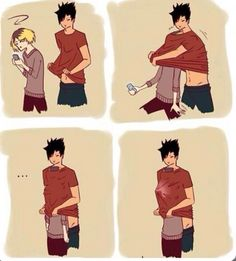 Kenma and Kuroo funny and cute