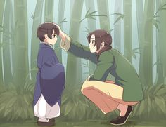 China and Japan (hetalia)