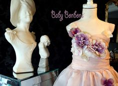 Dress Your leading ladies in your wedding in this very magical custom Designer flower Girl dress by Rosanna Hope for Babybonbons. We are debuting our new summer collection of special occasion dresses, The Enchanted Garden Collection. Pamper your beautiful flower girls with this stunning Organza Tea Length full dress in your choice of colors . We will custom match colors back to your bridesmaids or favorite colors. This is one of the prettiest dresses we make.  We love the combination colors…