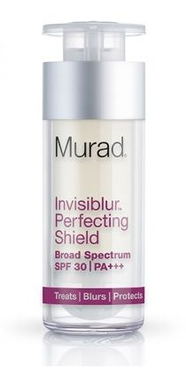 How to Update Your Makeup Bag for Summer #theeverygirl  Murad Invisiblur Perfecting Shield