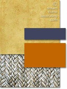 Tuscan color palette in yellow, grey and deep purple Yellow-grey Tuscan color palette with dusky purple and burnt-orange accents Exterior Paint Colors For House, Paint Colors For Home, House Colors, Paint Colours, Tuscan Paint Colors, Interior Paint Colors, Interior Design, Terracota, Tuscan Design