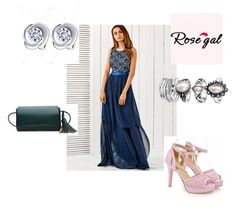"""""""Rosegal dress-56"""" by seldy-enes ❤ liked on Polyvore featuring vintage"""
