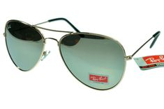 Ray-Ban Aviator 3025 Golden Frame Silver Lens RB1138