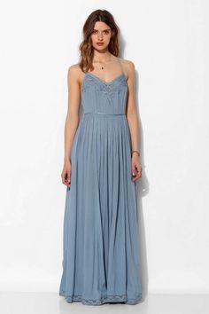 Kimchi Blue Dove Crinkle Gauze Maxi Dress