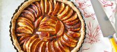 vegan apple tart - The Magazine of Yoga