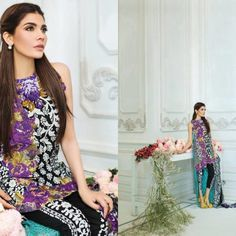 d9d7a0cf3 8 Best Plush Embroidered Kurtis Eid Collection images