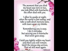 Miss my mom