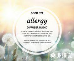 allergy diffuser blend