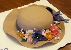 Custom Cakes By Stef: Ladies Hat Cake