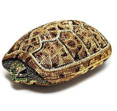 Judith Leiber Vintage Crystal Turtle Clutch- Lot 13 in June 19- 2013 Auction