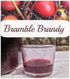 Sipping a hot toddy of Bramble Brandy on a cold Winter's night to warm you up.Full of vitamin C from blackberries and elderberries and complimentary flavours of damsons and plums, this recipe is simple to follow.