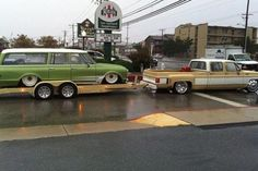 Custom Bagged: Chevy Dually Hauler & Custom Chevy Suburban