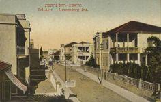 Тель-Авив. Архитектурная история